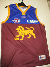 BRISBANE BROWNLOWS - MICHAEL VOSS, JASON AKERMANIS & SIMON BLACK SIGNED JERSEY