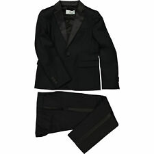 VERSACE Young Versace Black Wool Two Piece Suit - Size 7yrs