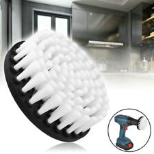 1x Power Scrubber Cleaning Drill Brush Tile Grout Tools Tub Cleaner Combo White