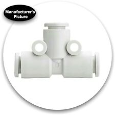 New Smc Kq2T10-00A Pneumatic Tee Tube-to-Tube Adapter; Push In 10mm