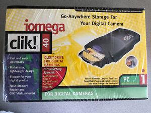 Vintage iomega Clik! 40 For Digital Cameras New In Sealed Package