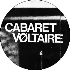 CHAPA/BADGE CABARET VOLTAIRE . pin button the cure bauhaus nick cave joy divisio