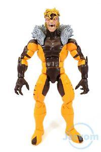 """Marvel Legends 6"""" Inch Apocalypse BAF Wave X-Men Sabretooth Loose Complete"""