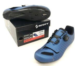 Scott MTB Comp Boa Mountain Bike Shoes Metallic Blue Men's Size 42 EU / 8.5 US