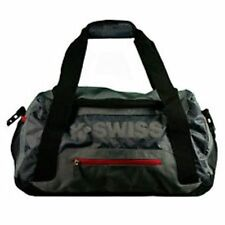 "K-SWISS 20"" GRAY BLACK SPORTS GYM GEAR WORKOUT DUFFEL TRAVEL CARRY-ON BAG NEW"