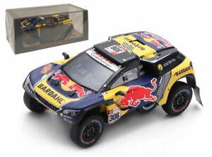 Spark S5626 Peugeot 3008 DKR PHSport 3rd Dakar 2019 - Sebastien Loeb 1/43 Scale