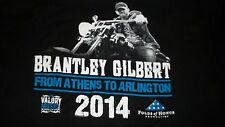 Promo BRANTLEY GILBERT T-Shirt Mens Womens 2XL Country Music Artist Singer
