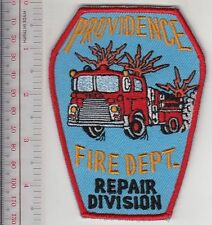 Providence Fire Department PFD Fire Fighting Equipment Repair Division Rhode Isl