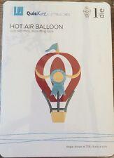 Lifestyle Crafts/Quickutz Hot Air Ballon 4x4 Die* NEW*