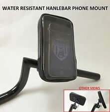 Cell Phone Handlebar Mount Holder Water Resistant Bicycle BMX Mountain Bike Road