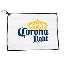 Corona Light Microfiber Golf Towel w/ Carabiner New