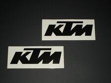 KTM Aufkleber Sticker 2 StkRacing Exc Cross Decal Bapperl Kleber Logo s 20
