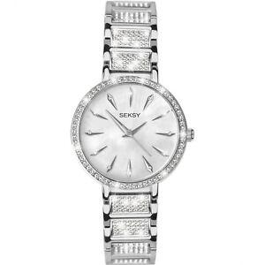 Sekonda Seksy Ladies Silver Watch Mother of Pearl Dial 2371