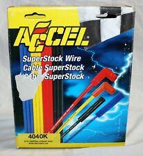 ACCEL 4040k Spark Plug Wires 8 CYL BIG BLOCK CHEVY 396-427-454