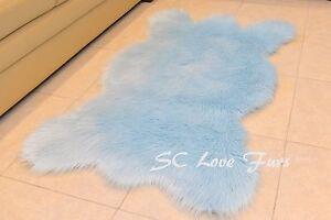 """36"""" x 58"""" A31 Original Bearskins Custom Design Shaggy Fur Rug 1"""" PlushFurEver"""