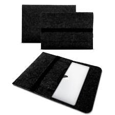 Apple Macbook Pro 13,3 Zoll Sleeve Filz Hülle Tasche Notebook Cover Dunkel Grau