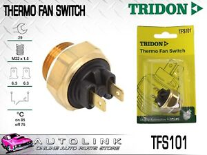 TRIDON THERMO FAN SWITCH FOR ALFA ROMEO 75 90 4CYL & V6 1985 - 1992