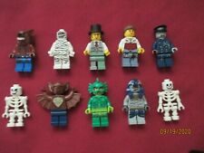 LEGO Zombie/Monster Minifigures Lot. Monsters ,Skeleton,Werewolf ,Mummy,Zombie