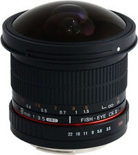 Samyang 8mm F3.5 UMC Fisheye CS II Lens for Sony a Mount