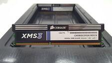 LOT 2 CORSAIR CMX8GX3M2A1600C9 4GB DDR3 PC3-12800 1600MHZ NONECC DIMM MEMORY RAM