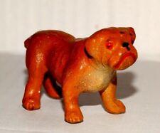 Antique Vintage Chiao Italy Elastolin Bulldog 1920-45 At3071419i