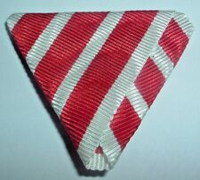 MEDAL RIBBON-GOOD TRIFOLDED AUSTRO-HUNGARIAN MILITARY CHAPLAINS MERIT CROSS