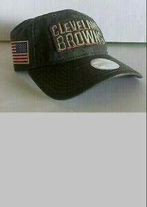 CLEVELAND BROWNS SALUTE TO SERVICE GAME HAT WOMEN JERSEY-CLR NFL PE M L XL OSFA