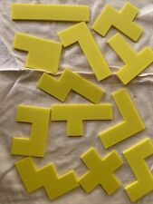 lot of 25 sets pentominoes hard plastic math teachers Selling For Over $3 Per