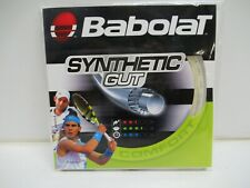 6 Sets: Babolat Synthetic Gut 16 (1.30) Natural Monofilament Tennis String