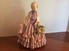 "Vintage Royal Doulton English Porcelain Figurine ""The Gentlewoman� Hn 1632"