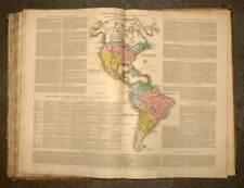 ATLAS HISTORIQUE, GENEALOGIQUE, CHRONOLOGIQUE ET GEOGRAPHIQUE de A. LE SAGE 1827