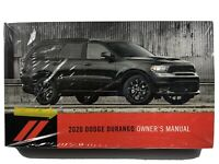20 2020 Dodge Durango owners manual/user guide BRAND NEW