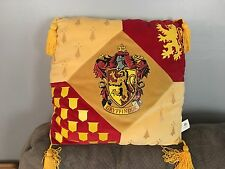 Wizarding World of Harry Potter Gryffindor Crest Pillow Universal Studios