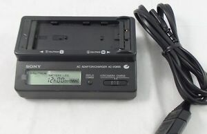 Sony AC-VQ850 AC Power Adapter/Charger Info Lithium L/M-Series Battery - Grade A