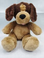 BUILD A BEAR CHOCOLATE BROWN AND TAN PUPPY DOG PLUSH TOY