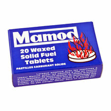 Genuine Mamod Steam Engine Waxed Solid Fuel Tablets Box of 20 inc VAT