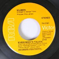 "Rock 45 Nilsson - Everbody'S Talkin"" / Rainmaker On Rca"