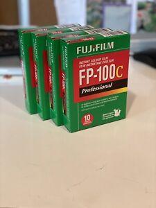 4 Packs Of Fujifilm FP-100C, Expired 2018. Fridge Stored.