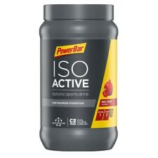 POWERBAR ISOACTIVE ISOTONIC ELECTROLYTE CYCLING RUN SPORT DRINK 600g - Red Fruit
