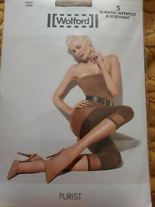 Wolford Purist Capri bottoms, Small, lion/brown, Slight 2nd