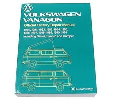 Volkswagen Vanagon Diesel Syncro Camper 80-91 Bentley Repair Manual VW8000148
