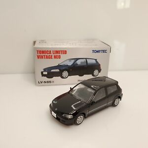 Rare Tomica Limited Vintage Neo Honda Civic VTi EG6 Black LV-N65a Japan