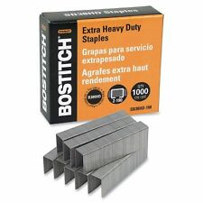 CASE OF 5 BOXES BOSTICH SB38HD-1M EXTRA HEAVY DUTY STAPLES CASE OF 5000