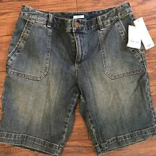 NWT Liz & Co Petite Denim Jean Shorts, Size 10 P