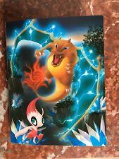 Official Album Pokemon 2006 charizard Dracaufeu Ex crystal guardian binder