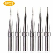 6pcs Weller Et Soldering Iron Replacement Tips For Wes5150 Wesd51 We1010na