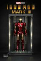 ZD Toys Marvel Avengers Iron Man Licensed Hall of Armor for 7″ Action Figure