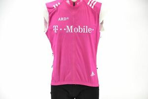 Original Erik Zabel Team Telekom Adidas Windbreaker Vest Size S T-Mobile Milram