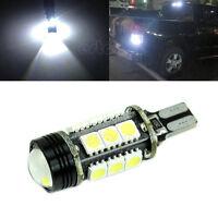 White 921 T15 Backup Reverse LED Lights Projector Lens Bulbs White