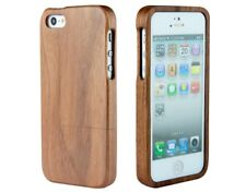 IPHONE SE 5/5S WOOD CASE COVER CRAFTED FROM SOLID REAL WOOD (SEE VIDEO)